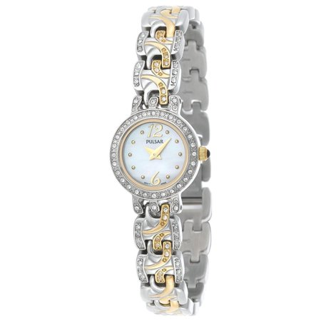 - Pulsar Women´s PEGE33 Quartz  Analog Stainless Steel Silver
