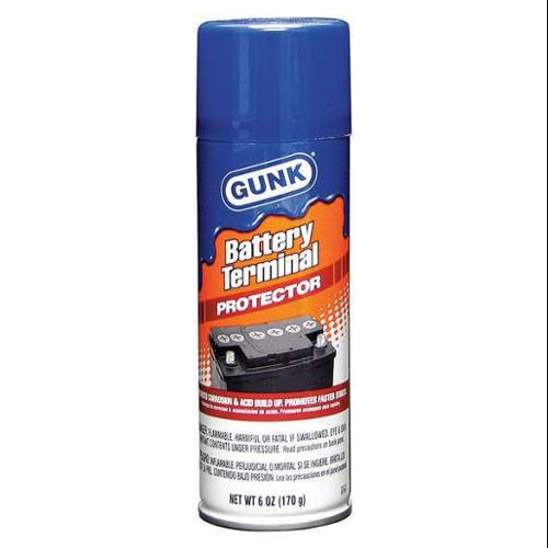 GUNK BTP6 Battery Terminal Protector, 6 oz Can