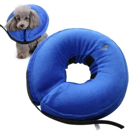 Inflatable Collar Pet Dog Cat E-Collar Medical Protection Head