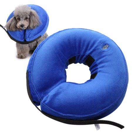 Inflatable Collar Pet Dog Cat E-Collar Medical Protection Head Cone (Inflatable Cat Collar)