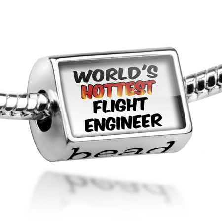 Bead Worlds hottest Flight Engineer Charm Fits All European Bracelets