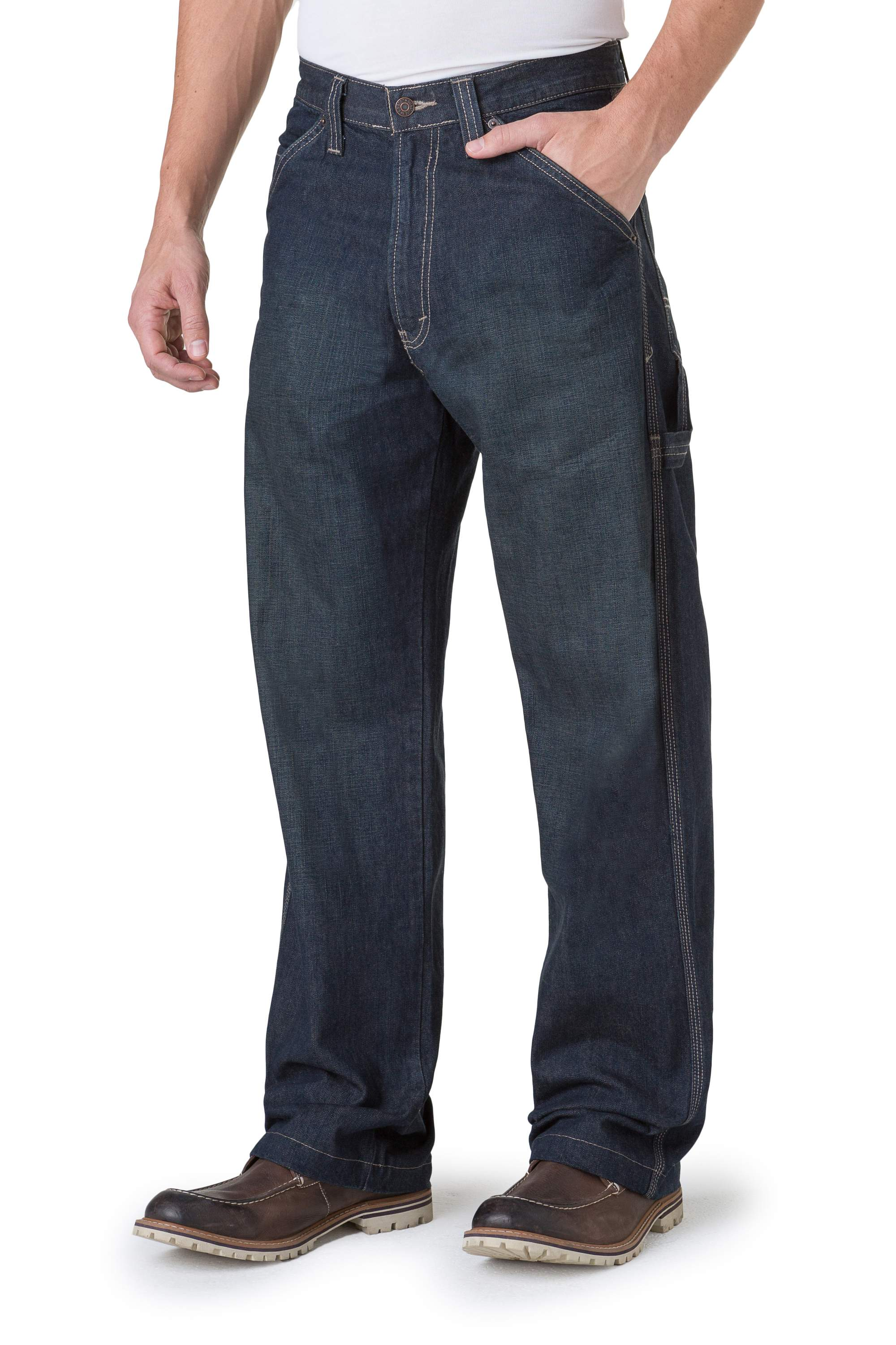 fc245658a64a Signature by Levi Strauss & Co. Men's Carpenter Jeans  - Walmart.com