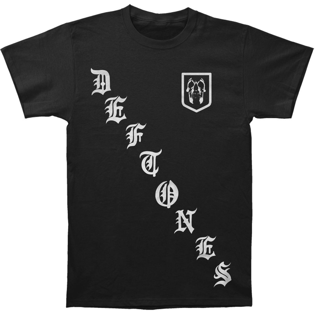 Deftones Men's  Black Rangers T-shirt Black