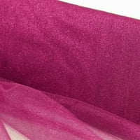 BalsaCircle 54-Inch x 15 yards Glittered Tulle Fabric by the Bolt - Sewing Wedding Craft Supplies Favors