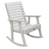highwood® Weatherly Recycled Plastic Rocking Chair