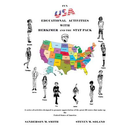 Fun Usa Educational Activities with Herkimer and the Stat Pack - eBook