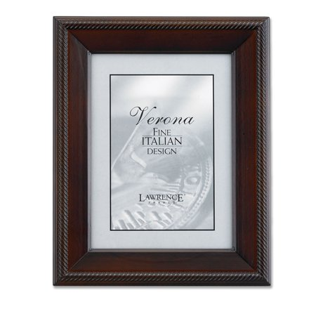 walnut wood 8x10 picture frame tuxedo. Black Bedroom Furniture Sets. Home Design Ideas