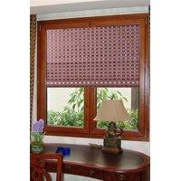 "Natural Bamboo Roll Up Window Blind Sun Shade WB-G16 (36"" X 72"")"