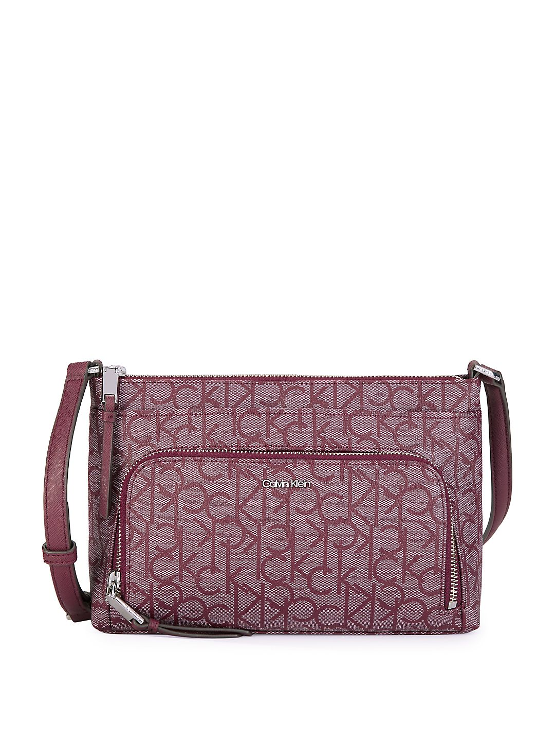 Calvin Klein - Classic Faux Leather Crossbody Bag - Walmart.com 5512466d89314