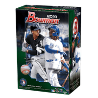 2019 Topps Bowman Baseball Blaster Box- 6ct with Chrome Parallel Inserts | 1989 30th Anniversary inserts | MLB Licensed Trading Cards