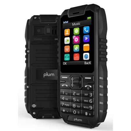 Plum Ram 4 - Rugged Unlocked GSM Cell Phone Water Shock Proof IP68
