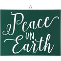 Belham Living Hanging Decor with Peace on Earth Text