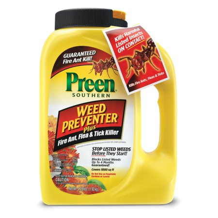 Preen Southern Garden Weed Preventer Plus Fire Ant Flea and Tick