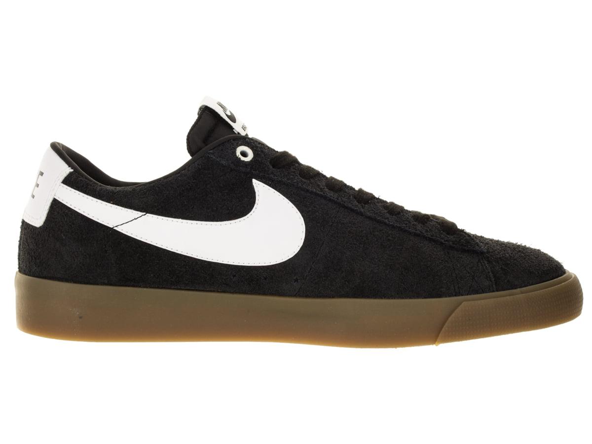 Mens Nike SB Blazer Low GT Grant Taylor Black White Metallic Gold 7049