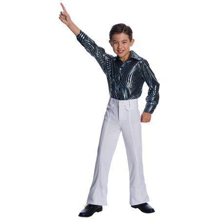 Boys Sychedelic Swirl Disco Shirt - Disco Shirts For Sale