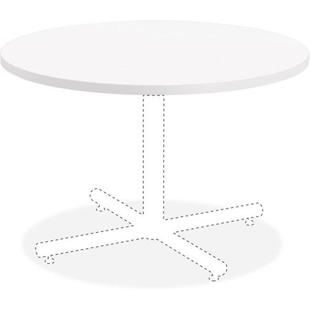 36 in. Hospitality Tabletop, Round - White Laminate
