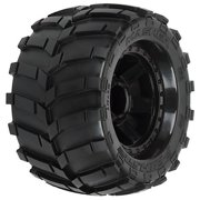 """Masher 3.8"""" w/ Traxxas Style Bead Tire 17mm Multi-Colored"""