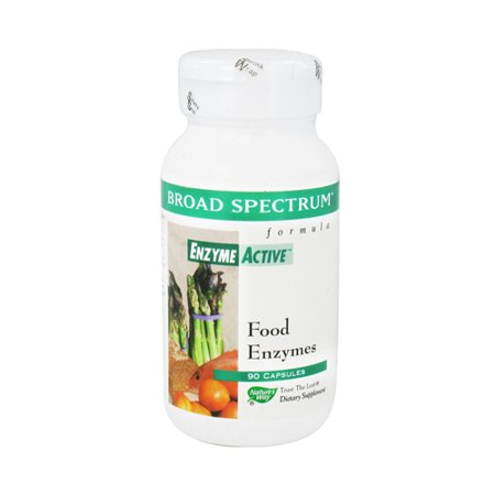 - Natures Way Broad Spectrum Formula Enzyme Active Capsules - 90 Ea