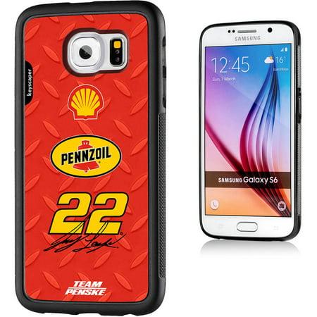 Joey Logano 22 Shell Pennzoil Galaxy S6 Bumper Case