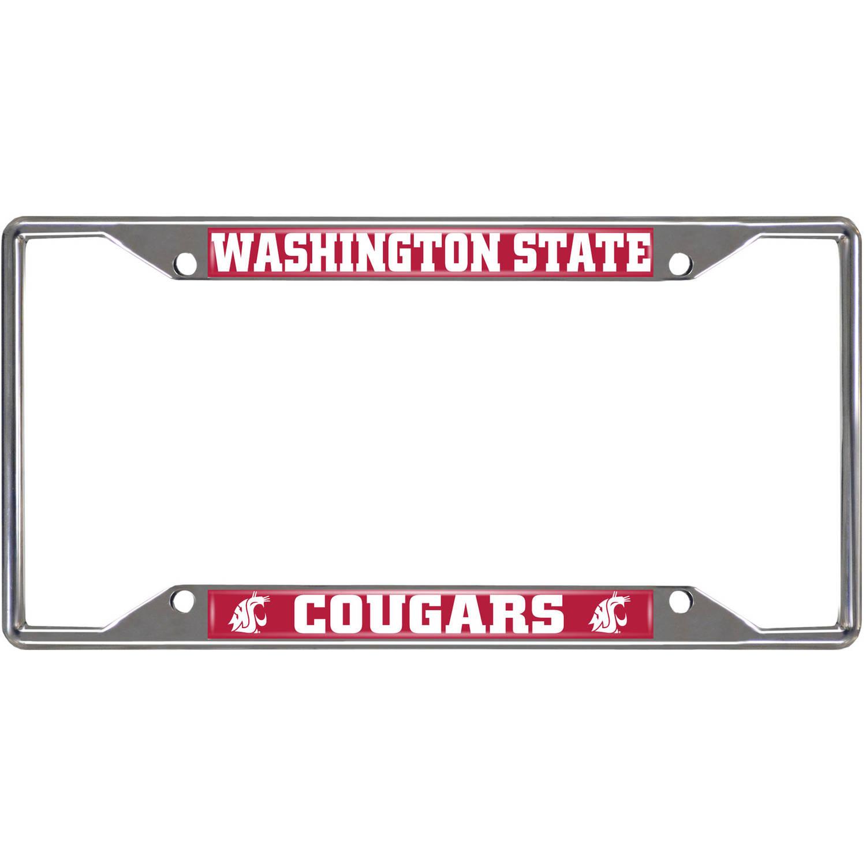 Fan Mats Washington State University License Plate Frame
