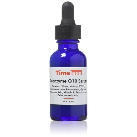 Timeless skin care Coenzyme Q10 Serum + Matrixyl + Hyaluraonic Acid (Dior One Essential Skin Boosting Super Serum Reviews)