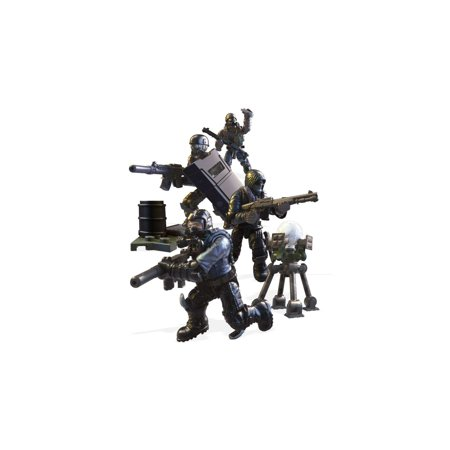 Mega Construx Call of Duty Urban Strike Squad with 4-Action Figures