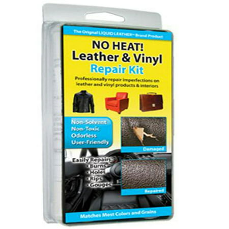 Professional Leather Vinyl Repair Kit for Car Seat & (Professional Leather)