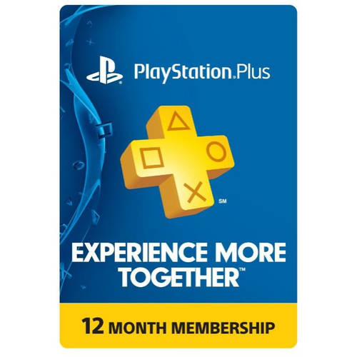 PlayStation Plus 12 Month Membership, Sony, [Digital Download]