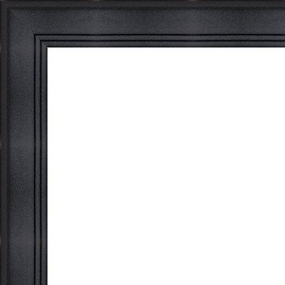 14x36 - 14 x 36 contemporary black solid wood frame with uv framer\'s ...
