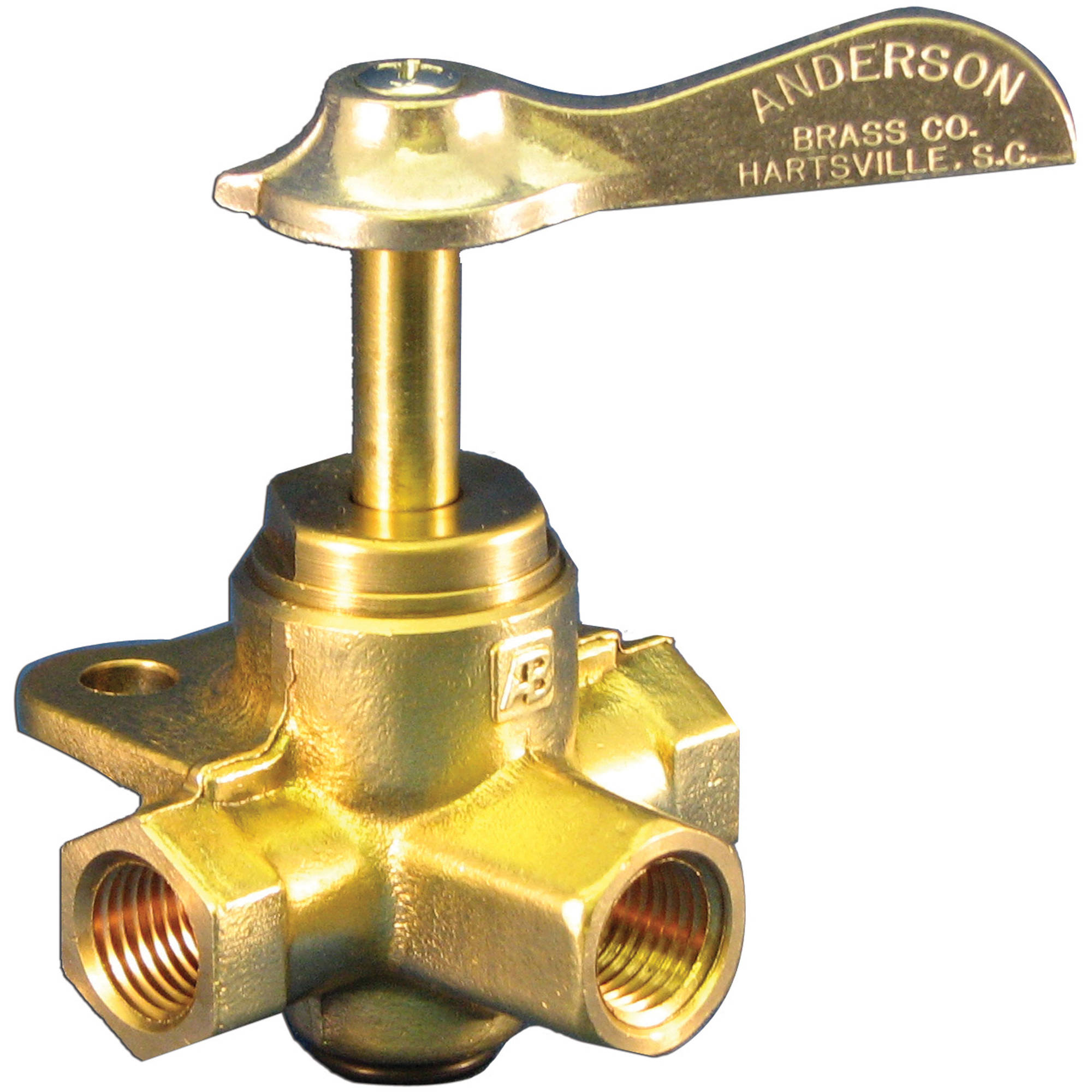 "Moeller 033305-10 1/4"" FNPT Three Way Valve"