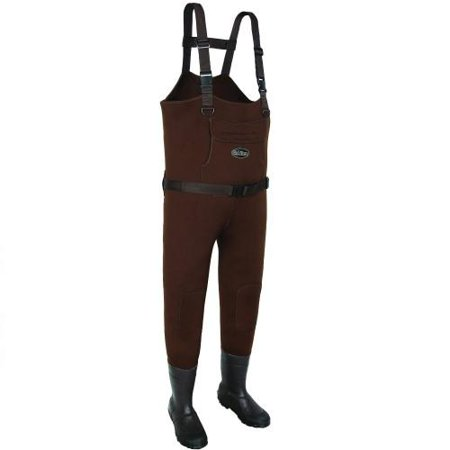 Image of Allen 12850 Chesapeake Neoprene Bootfoot Chest Wader Brown Size 10