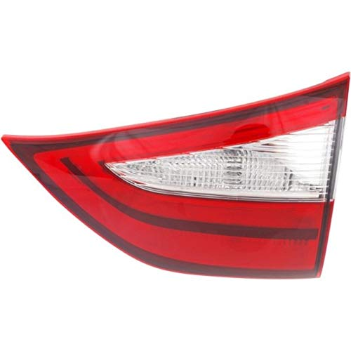 Tail Light - Cooling Direct Fit/For TO2803117 15-18 Toy Sienna Tail Lamp Assembly Rh Inner On Liftgate Exc.Se-Model NSF