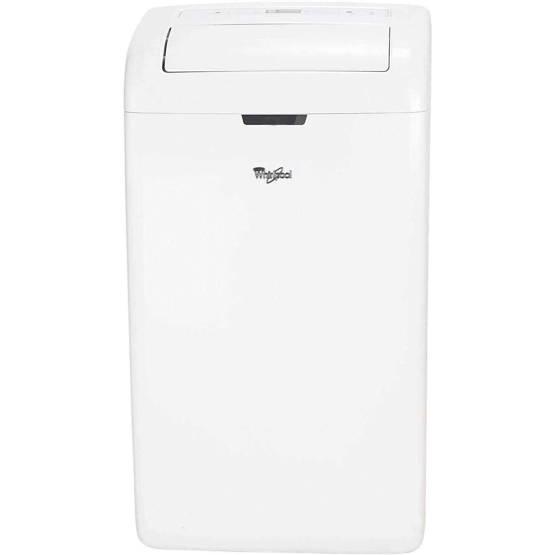 Whirlpool ACP122GPW1 12,000-BTU Room Portable Air Conditioner w ...