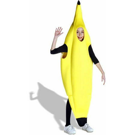 Banana Child Halloween Costume, One Size, - Banana Costume Halloween