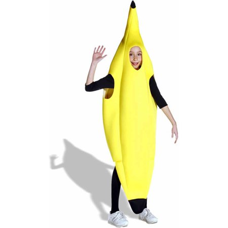 Banana Child Halloween Costume, One Size, (7-10)](Yellow Hazmat Suit Halloween)