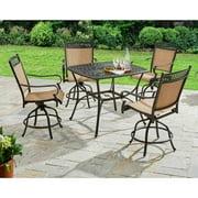 Better Homes and Gardens Warrens 5-Piece Aluminum High Dining Set