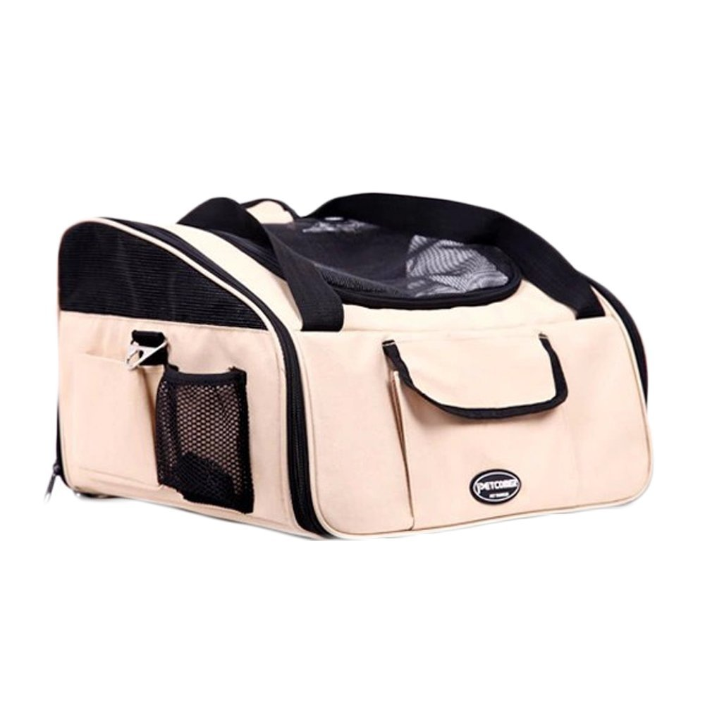 Quno Pet Car Booster Seat Carrier Bike Basket with Seat B...