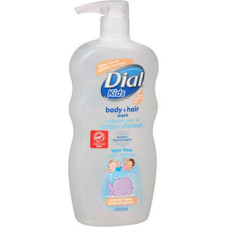 Dial Kids Tear Free Peachy Clean Body + Hair Wash 24 fl. oz.