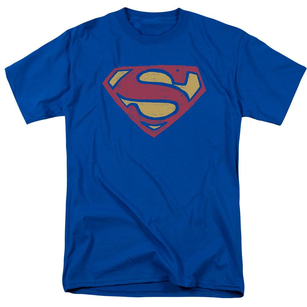 SUPERMAN/SUPER ROUGH-S/S ADULT 18/1-ROYAL BLUE-XL