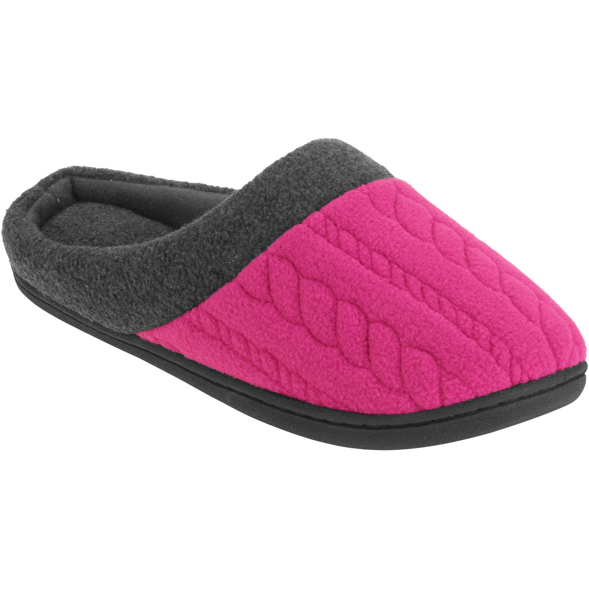 e39d3a37f99 Shoe Shack - Women s Black Chinese Mesh Slippers - Walmart.com