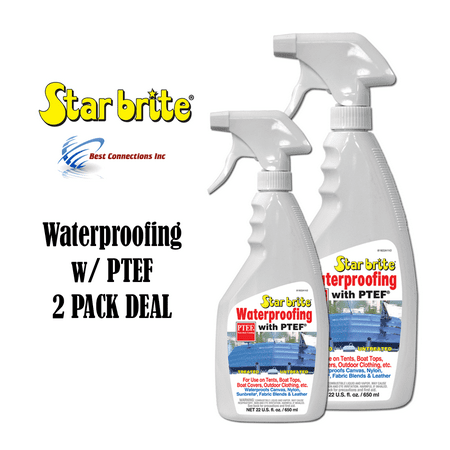 Waterproofing W/ PTEF 22oz Marine Fabric Cleaning Supply StarBrite 81922 2