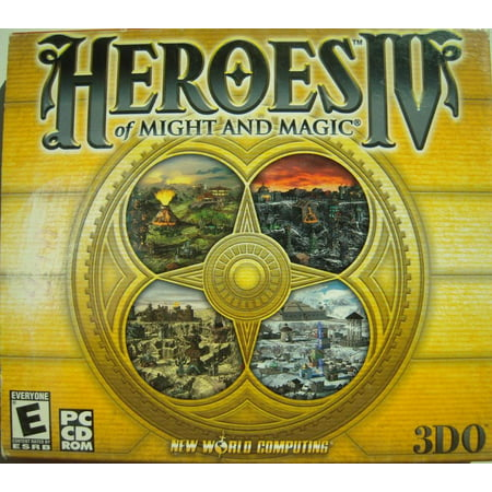 Heroes of Might & Magic IV (Heroes Of Might And Magic 3 Complete)