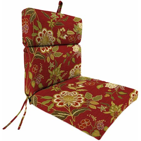 Jordan Manufacturing Outdoor Patio - French Edge Cartridge Chair Cushion - Jordan Manufacturing Outdoor Patio - French Edge Cartridge Chair