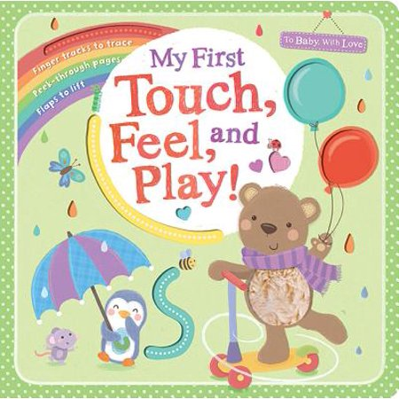 My First Touch Feel and Play (Board Book)