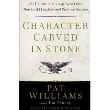 Character Carved in Stone : The 12 Core Virtues of West Point That Build Leaders and Produce - Miniature Stone Carving
