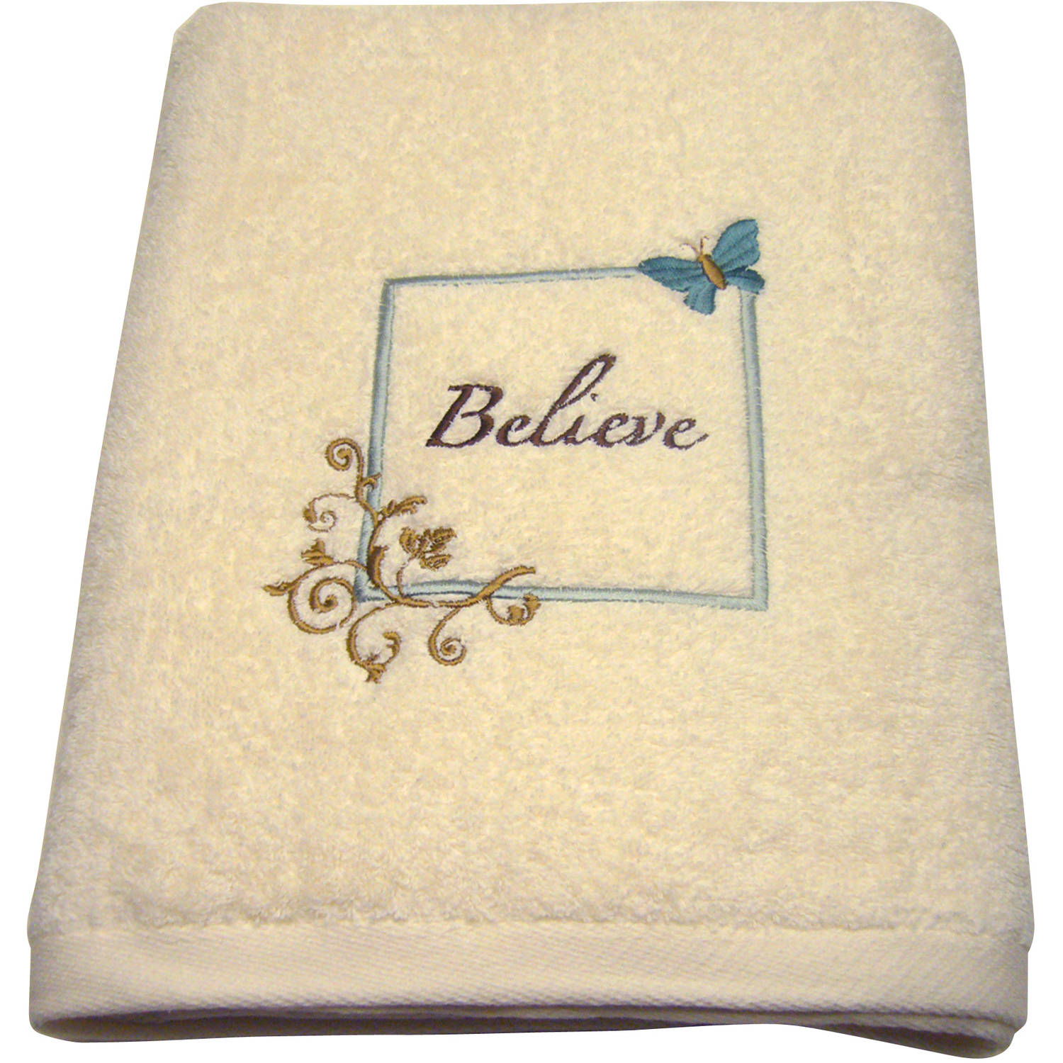 Mainstays Butterfly Blessing Decorative Bath Towel Collection