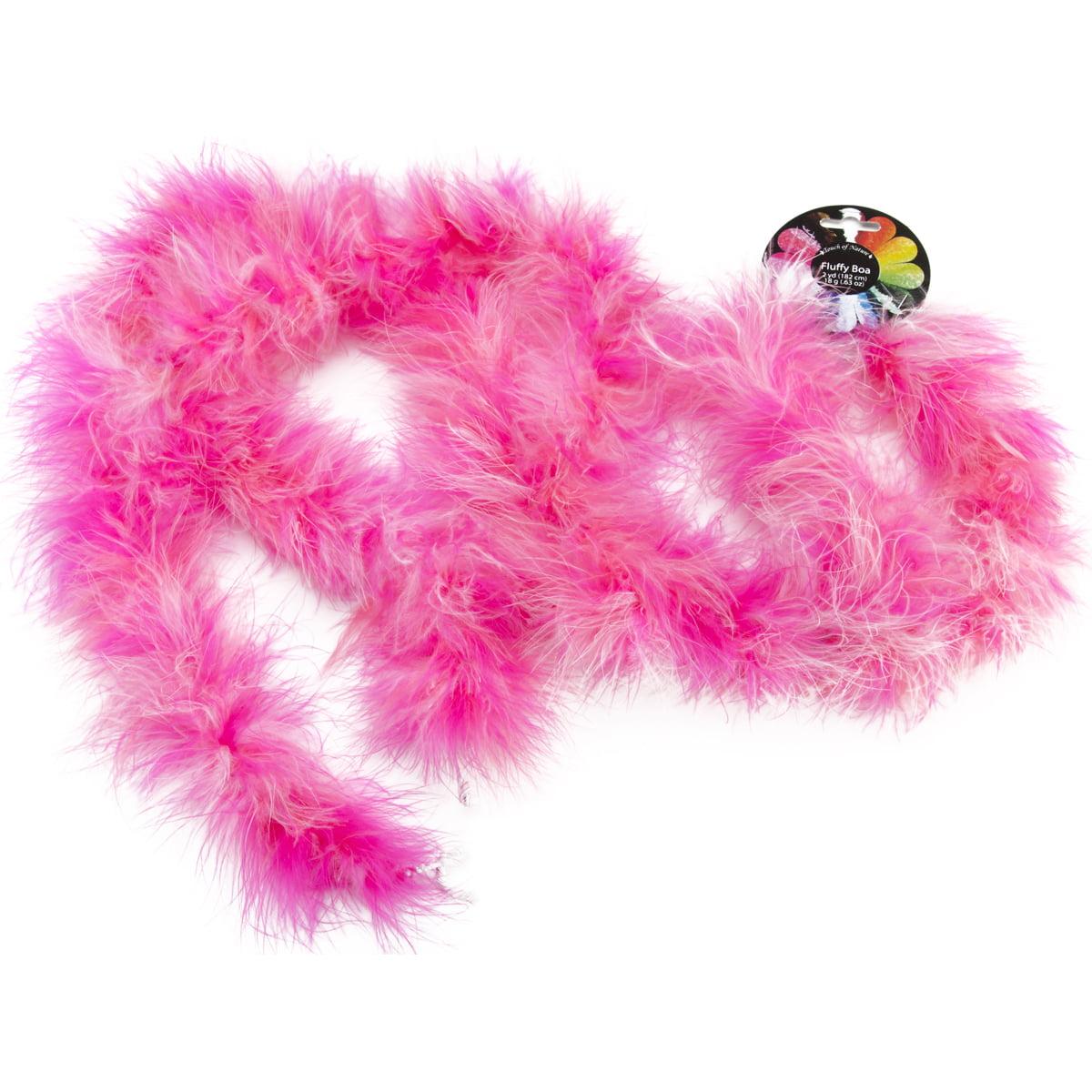 "Marabou Feather Boa 72""-Pink Mix"