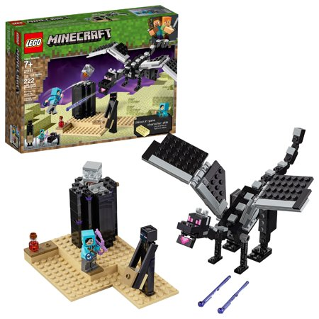 LEGO Minecraft The End Battle 21151 Ender Dragon Building Kit