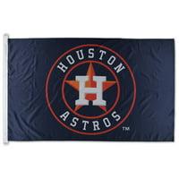 WinCraft Houston Astros 3' x 5' Single-Sided Team Flag