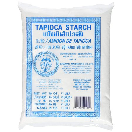 Erawan Tapioca Starch Powder, 16 oz